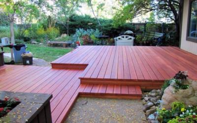 Littleton Redwood Deck Restore